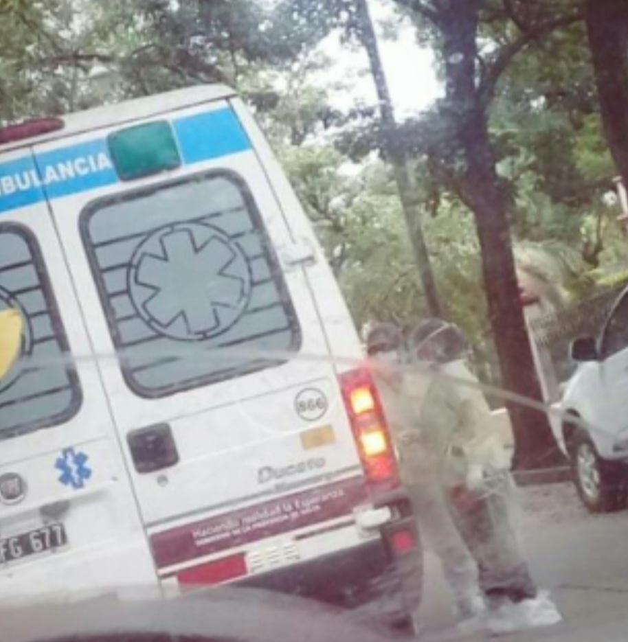 ambulancia local